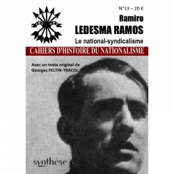Ramiro Ledesma Ramos - Le national-syndicalisme