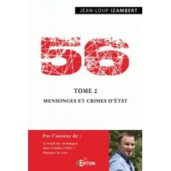 56 Tome 2 Mensonges et crimes d'Etat - Jean-Loup Izambert