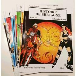 BD - Coffret histoire de Bretagne (10 tome) - Reynald Secher