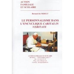 e personnalisme dans l'encyclique caritas in veritate - Bernard de Midelt
