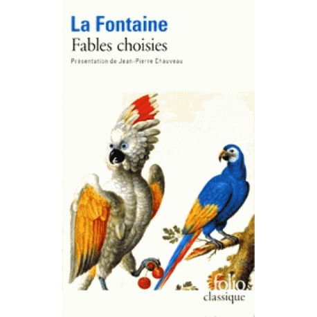 Fables choisies - La Fontaine (poche)