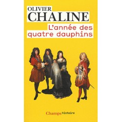 L'année des quatre dauphins - Olivier Chaline (poche)