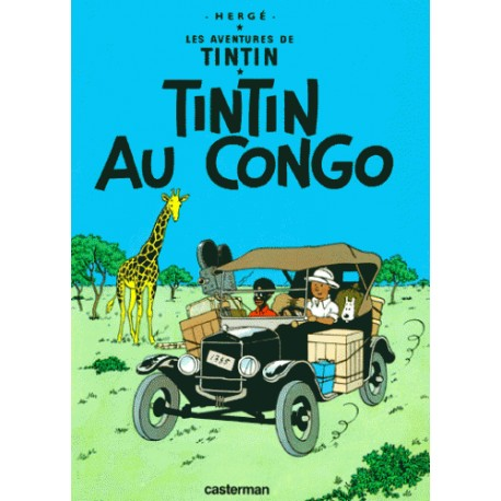 Tintin au Congo - Hergé (BD)