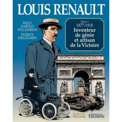 Louis Renault Tome 1 - W.H. Williamson, P. Deschamps (BD)