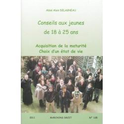 Conseils aux jeunes de 18 à 25 ans - Abbé Delagneau