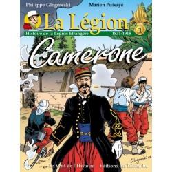 La Légion Tome 1 Camerone - Philippe Glogowski, Marien Puisaye (BD)