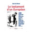 Le testament d'un Européen - Jean de Brem