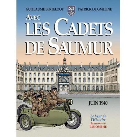Avec les Cadets de Saumur - Guillaume Berteloot, Patrick de Gmeline (BD)