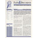 Faits & Documents n°452 - du 1er au 30 juin 2018