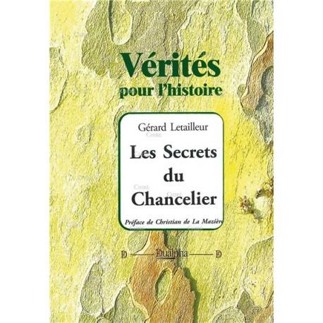 Les secrets du chancelier - Gérard Letailleur