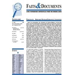 Fait& Documents n°460 - Du 15 décembre 2018 au 15 janvier 2019