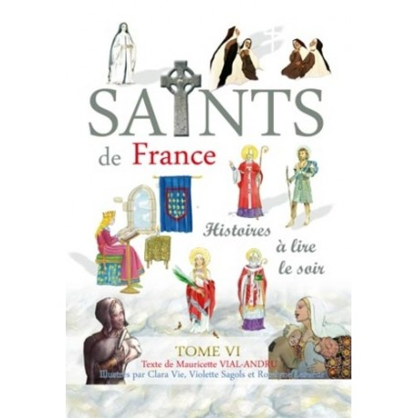 Saints de France Tome 6 - Mauricette Vial-André