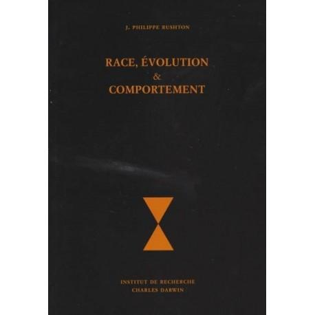 Race, évolution & comportement - J. Philippe Rushton - Librairie française