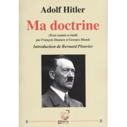 Ma doctrine - Adolf Hitler