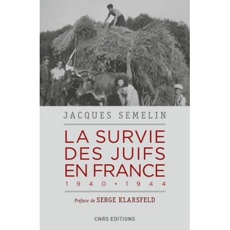 La survie des juifs de France - Jacques Semelin
