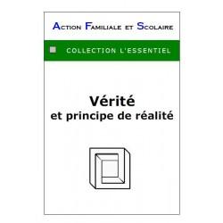 Vérité et principe de réalité - André Frament