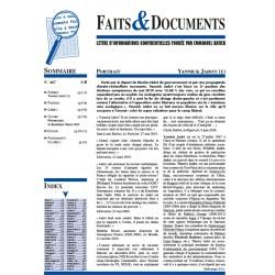 Faits & Documents n°467