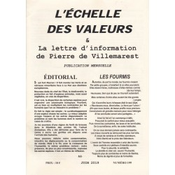 L'échelle des valeurs - n°199 - juin 2019