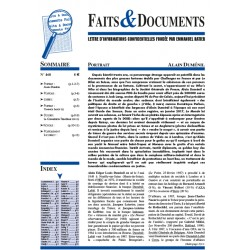 Faits & Documents n°468
