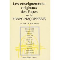Les enignements originaux des papes sur la franc-maçonnerie