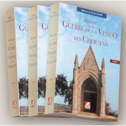 Hstoire de la guerre de la Vendée et des Chouans - Alphonse de Beauchamp -