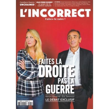 L'incorrect n°24 - Octobre 2019
