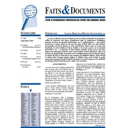Faits & documents n°469