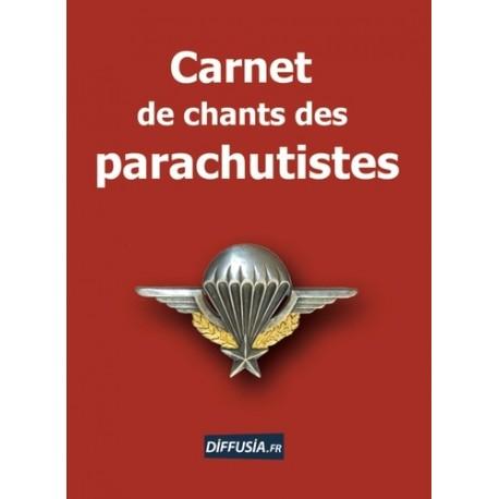 Canet de chants des parachutistes - Thierry Bouzard