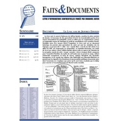 Faits & Documents n°471