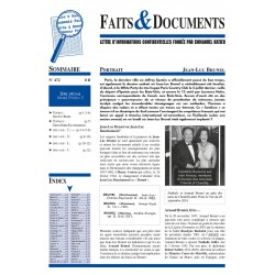 Faits & documents n°472