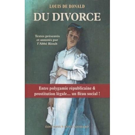 Du divorce - Louis de Bonald