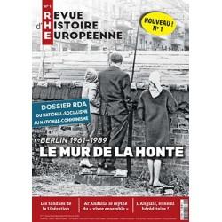 Revue d'histoire européenne n°1