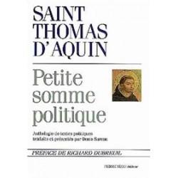 Petite somme politique - Saint Thomas d'Aquin