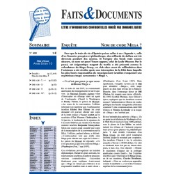 Faits & documents n°480