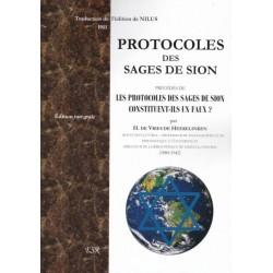 Protocoles des sages de Sion -