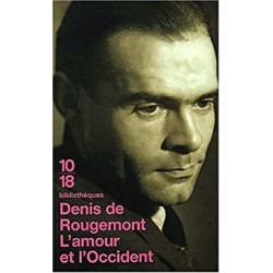 L'amour et l'Occident - Denis de Rougemont (poche)