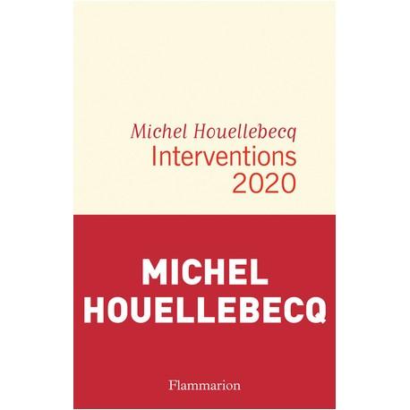 Interventions 2020 - Michel Houellebecq
