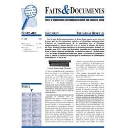 Faits & documents n°488