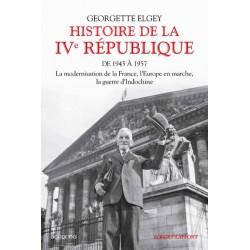 Histoire de la IVe république Tome 1 - Georgette Elgey