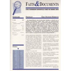 Faits & documents n°490