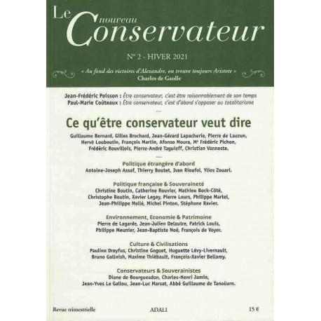 Le nouveau Conservateur n°2 Hiver 2021