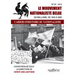 es mouvements nationalistes en Belgique - Cahiers d'histoire du nationalisme n°19