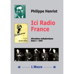 Ici Radio France - Philippe Henriot