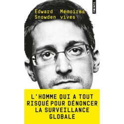 Mémoires vives - Edward Snowden (poche)