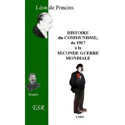 Histoire du communisme de 1917 à la Seconde Guerre mondiale - Léon de Poncins