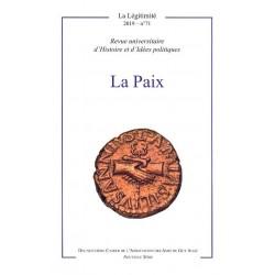 La Paix - La Légitimité n° 71 - 2019
