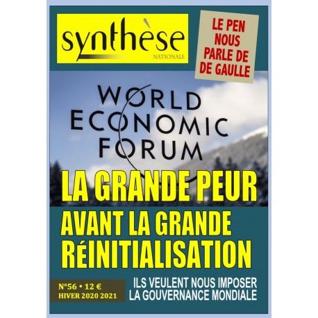 Synthèse nationale n°56 - Hiver 2020-2021