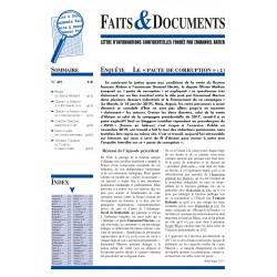Faits & documents n°492