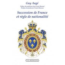 Succession de France et règle de nationalité - Guy Augé