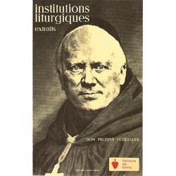 Institutions liturgiques - Dom Prosper Gueranger
